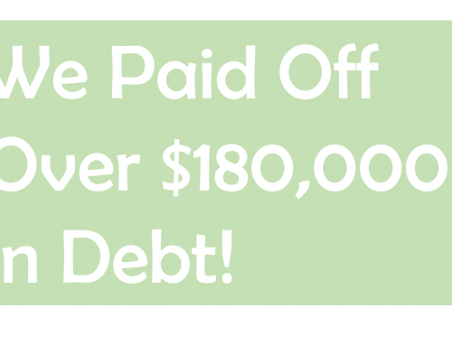 Our Debt Free Journey: We Did It!