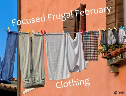 Focused Frugal February: Clothing